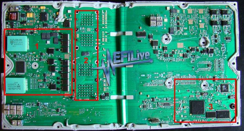 Inside the CM849B ECM